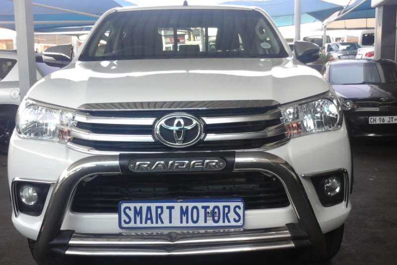 Toyota Hilux 2.8GD 6 double cab 4x4 Raider 2017