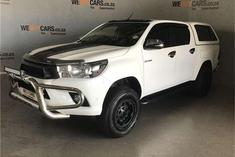 Toyota Hilux 2.8GD 6 double cab 4x4 Raider 2017