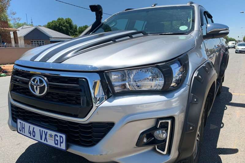 Toyota Hilux 2.8GD 6 double cab 4x4 Raider 2018
