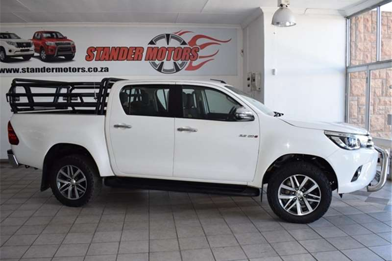 Used 2018 Toyota Hilux 2.8GD 6 double cab 4x4 Raider