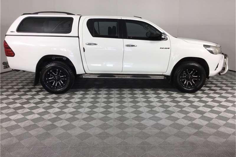 2016 Toyota Hilux Hilux 2.8GD-6 double cab 4x4 Raider auto