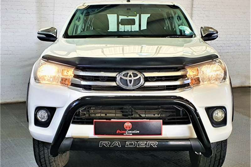Used 2016 Toyota Hilux 2.8GD 6 double cab 4x4 Raider auto