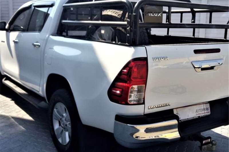 Toyota Hilux 2.8GD-6 double cab 4x4 Raider auto 2017