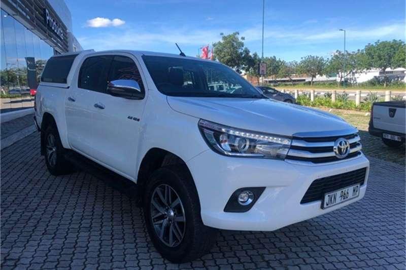 Toyota Hilux 2.8GD-6 double cab 4x4 Raider auto 2018