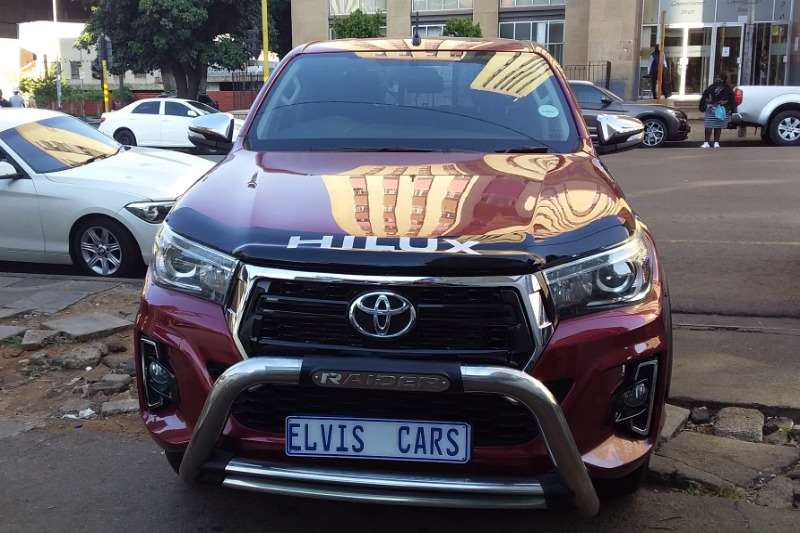 Used 2019 Toyota Hilux 2.8GD 6 double cab 4x4 Raider auto