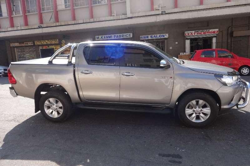 Toyota Hilux 2.8GD 6 double cab Raider 2016