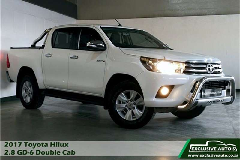 Toyota Hilux 2.8GD 6 double cab Raider 2017