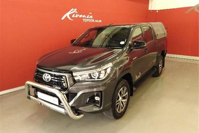 Toyota Hilux 2.8GD 6 double cab Raider 2018