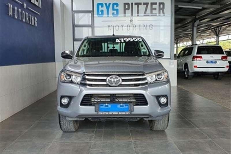 Toyota Hilux 2.8GD 6 double cab Raider 2018