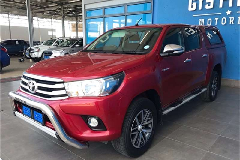 Used 2016 Toyota Hilux 2.8GD 6 double cab Raider auto