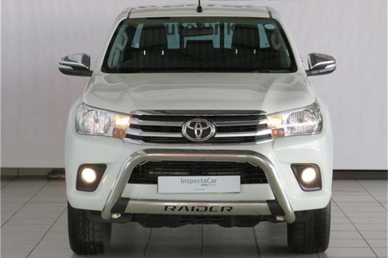 Toyota Hilux 2.8GD 6 double cab Raider auto 2017