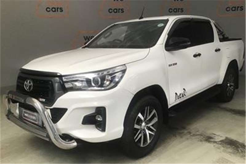 Toyota Hilux 2.8GD-6 double cab Raider auto 2018