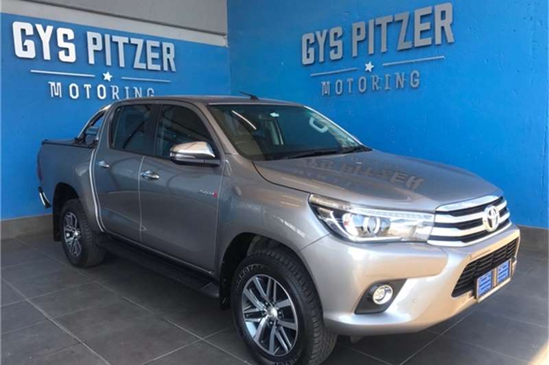 Used 2018 Toyota Hilux 2.8GD 6 double cab Raider auto