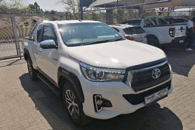 2018 Toyota Hilux Hilux 2.8GD-6 double cab Raider auto
