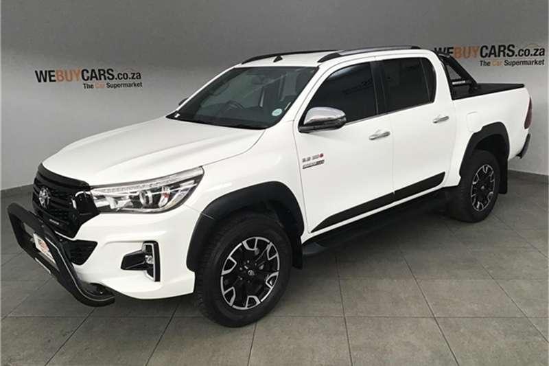 Toyota Hilux 2.8GD 6 double cab Raider auto 2019