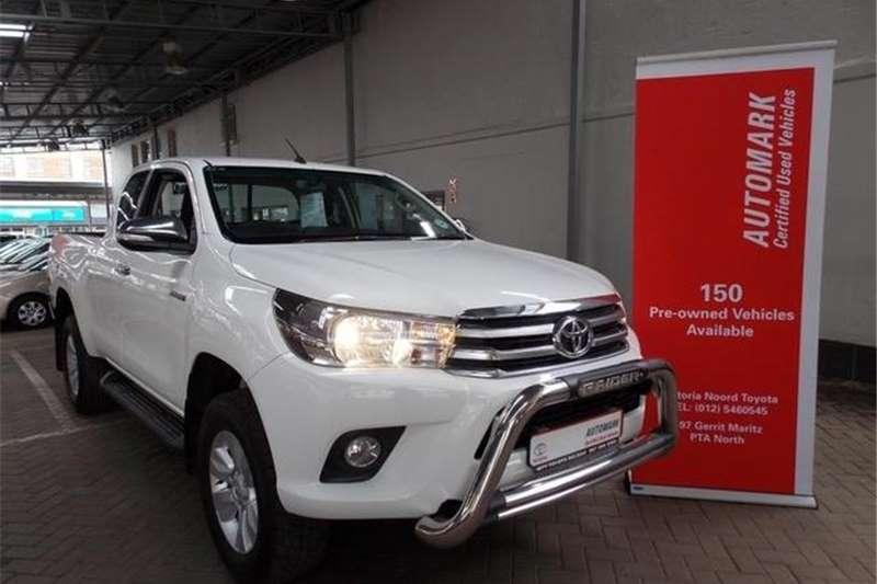 Toyota Hilux 2.8GD 6 Xtra cab 4x4 Raider 2017