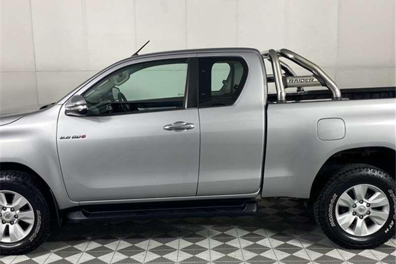 Used 2016 Toyota Hilux 2.8GD 6 Xtra cab Raider