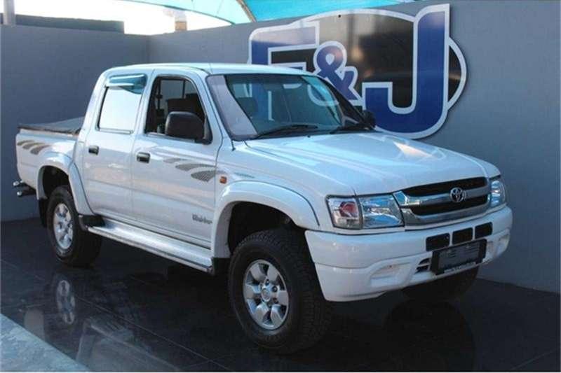 Toyota Hilux 2700i D/Cab 4x4 Raider 2002