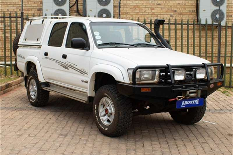 Toyota Hilux 2700i RAIDER 4X4 P/U D/C 1999
