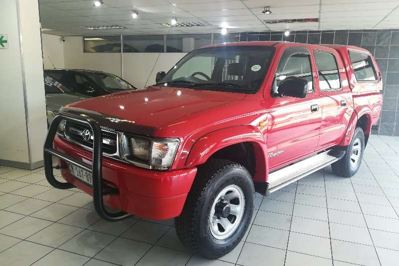 Toyota Hilux 2700i Raider D/C (One Owner) 2001