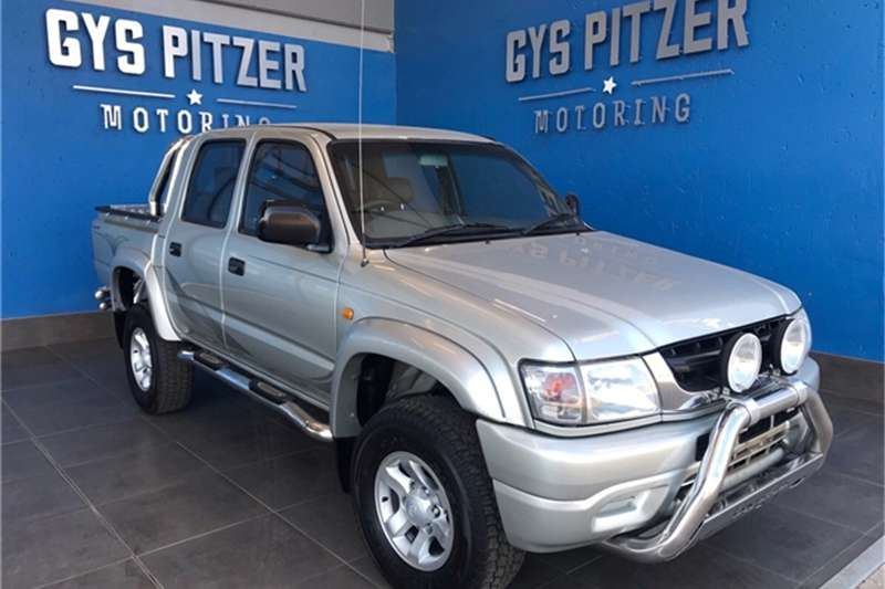 Toyota Hilux 2700i Raider Raised Body D/Cab 2004