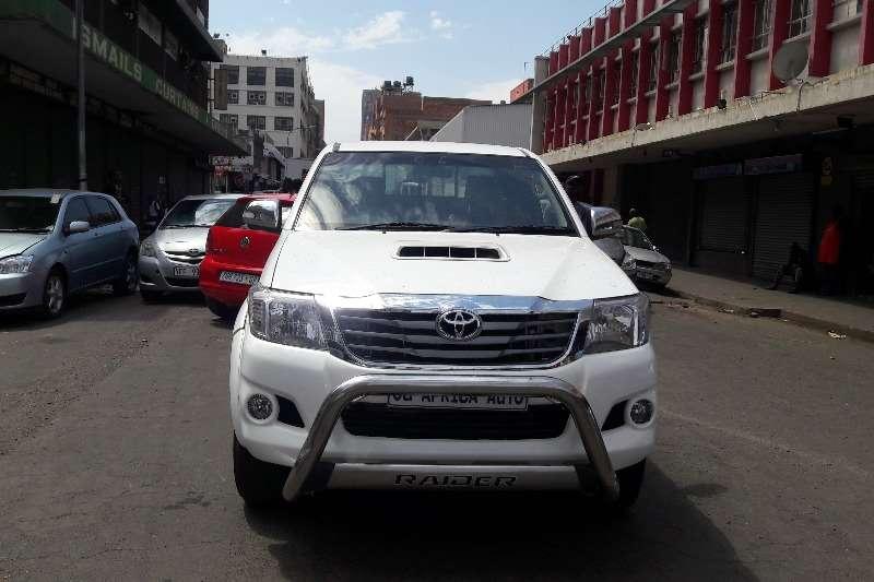 Toyota Hilux 3.0D 4D 4x4 Raider 2013