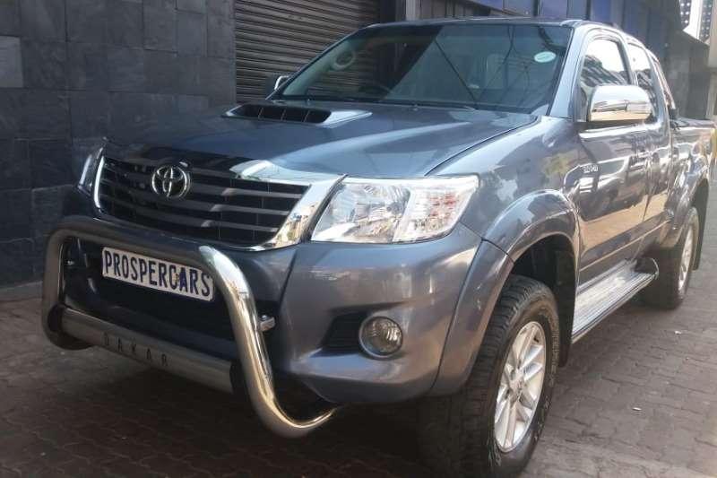 Toyota Hilux 3.0D 4D 4x4 Raider Dakar edition 2014