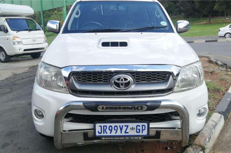 Toyota Hilux 3.0D 4D 4x4 Raider Legend 40 2010