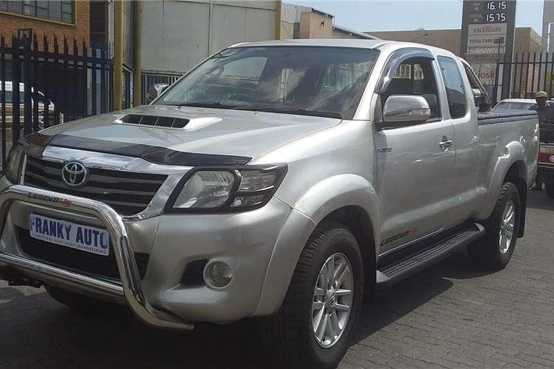 Toyota Hilux 3.0D 4D 4x4 Raider Legend 45 2012