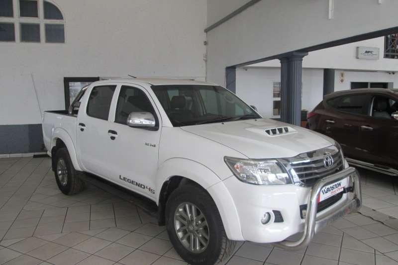 Toyota Hilux 3.0D 4D 4x4 Raider Legend 45 2013