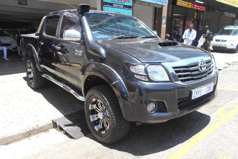 Toyota Hilux 3.0D 4D double cab 4x4 Raider 2008
