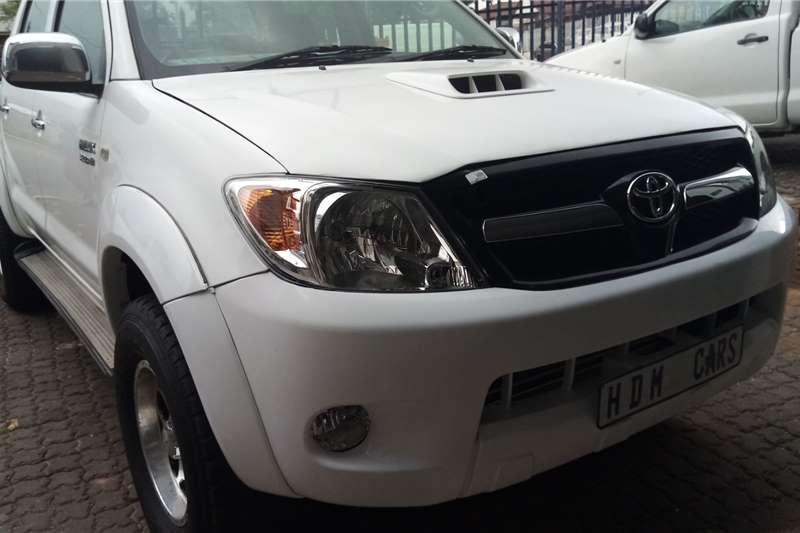 Used 2008 Toyota Hilux 3.0D 4D double cab 4x4 Raider
