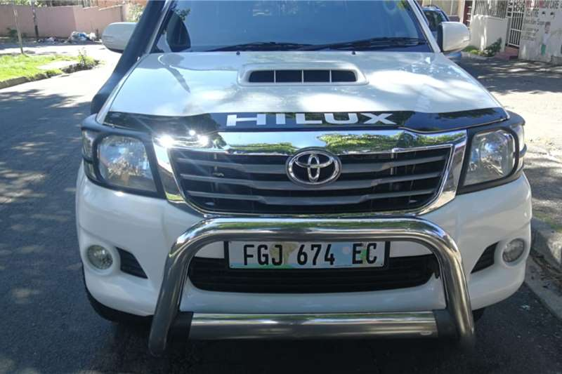Used 2009 Toyota Hilux 3.0D 4D double cab 4x4 Raider auto