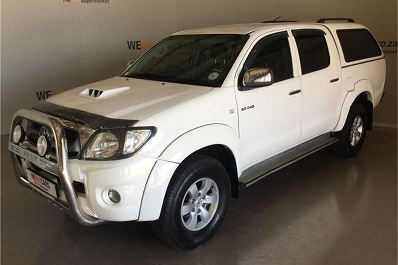 Toyota Hilux 3.0D 4D double cab 4x4 Raider auto 2011