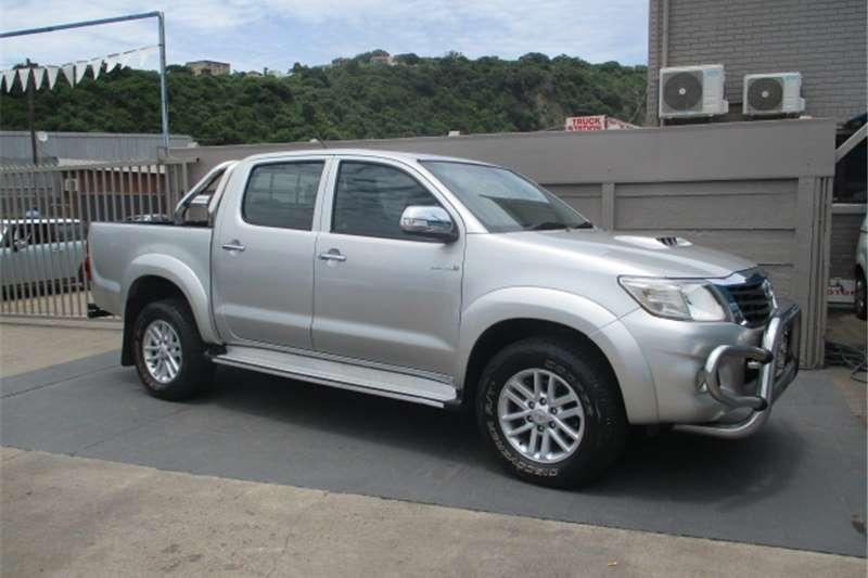 Toyota Hilux 3.0D 4D double cab 4x4 Raider auto 2012