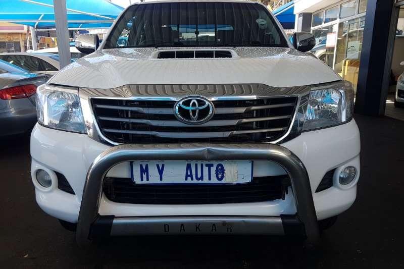 Toyota Hilux 3.0D-4D double cab 4x4 Raider auto 2013