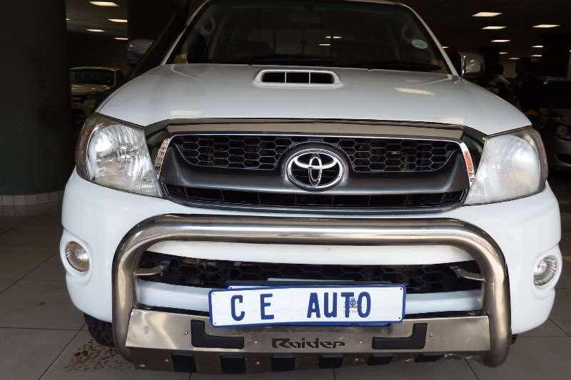 Toyota Hilux 3.0D 4D double cab 4x4 Raider automatic 2010