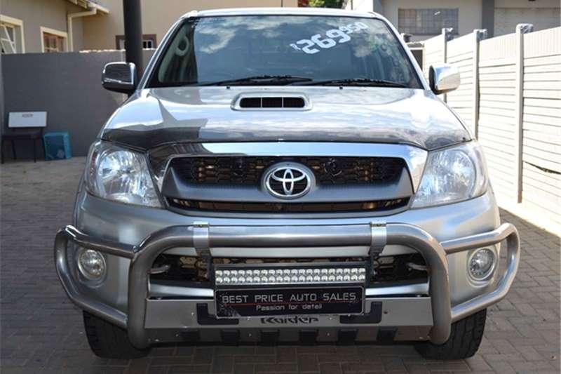 Toyota Hilux 3.0D 4D double cab 4x4 Raider automatic 2011