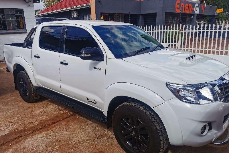 Used 2015 Toyota Hilux 3.0D 4D double cab 4x4 Raider Dakar edition
