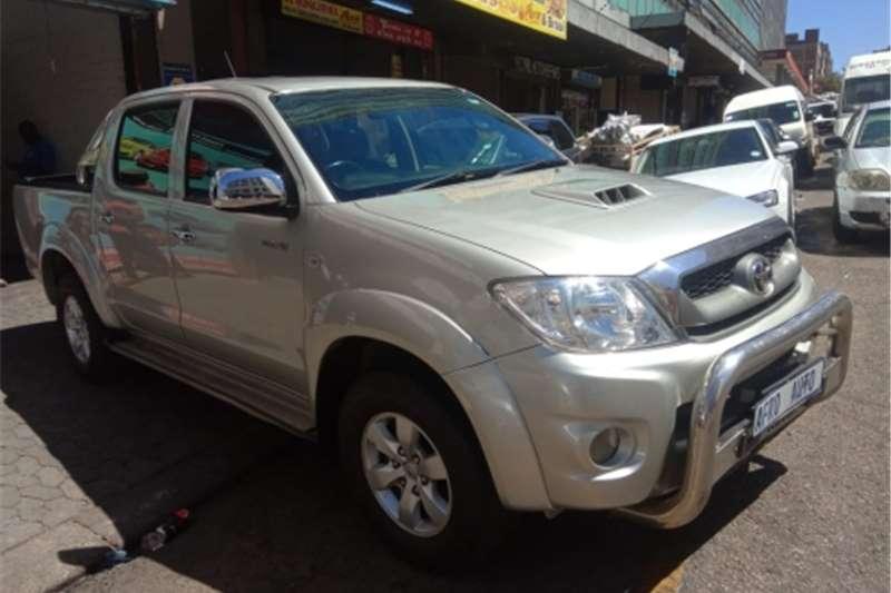Used 2011 Toyota Hilux 3.0D 4D double cab 4x4 Raider Heritage Editi