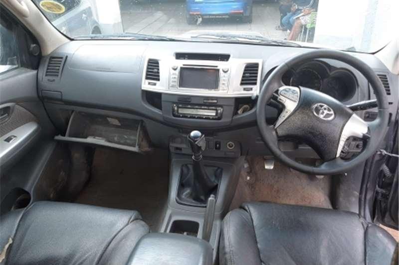 Toyota Hilux 3.0D 4D double cab 4x4 Raider Heritage Editi 2012