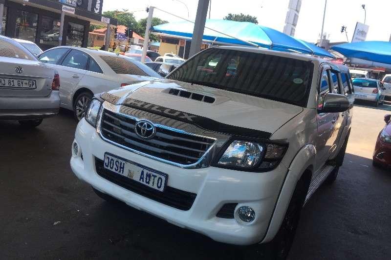 Toyota Hilux 3.0D 4D double cab 4x4 Raider Legend 40 2012