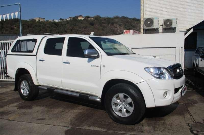 Toyota Hilux 3.0D 4D double cab 4x4 Raider Legend 40 auto 2011