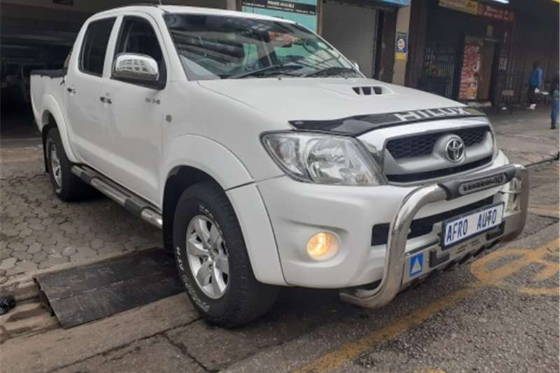 Used 2011 Toyota Hilux 3.0D 4D double cab 4x4 Raider Legend 40 auto
