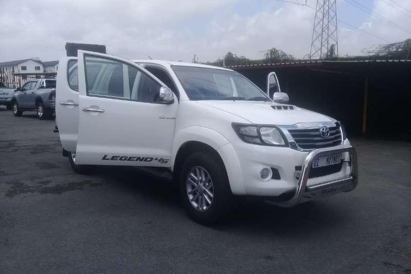 Toyota Hilux 3.0D 4D double cab 4x4 Raider Legend 45 2012