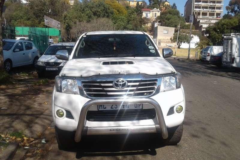 Toyota Hilux 3.0D 4D double cab 4x4 Raider Legend 45 2014