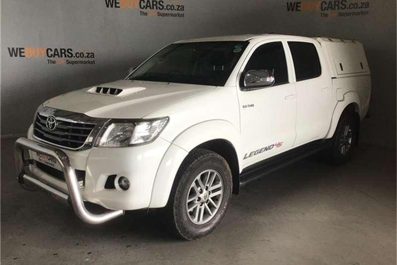 Toyota Hilux 3.0D 4D double cab 4x4 Raider Legend 45 2015