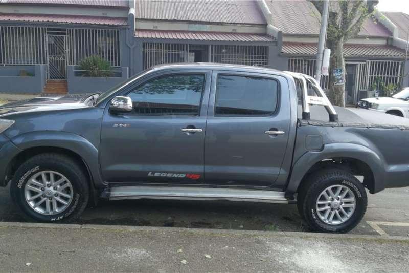Used 2013 Toyota Hilux 3.0D 4D double cab 4x4 Raider Legend 45 auto
