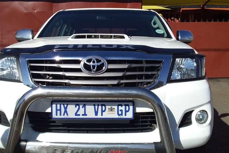Toyota Hilux 3.0D 4D double cab 4x4 Raider Legend 45 auto 2016