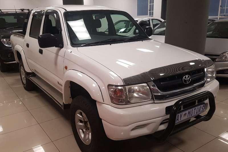 Toyota Hilux 3.0D 4D double cab Raider 2003